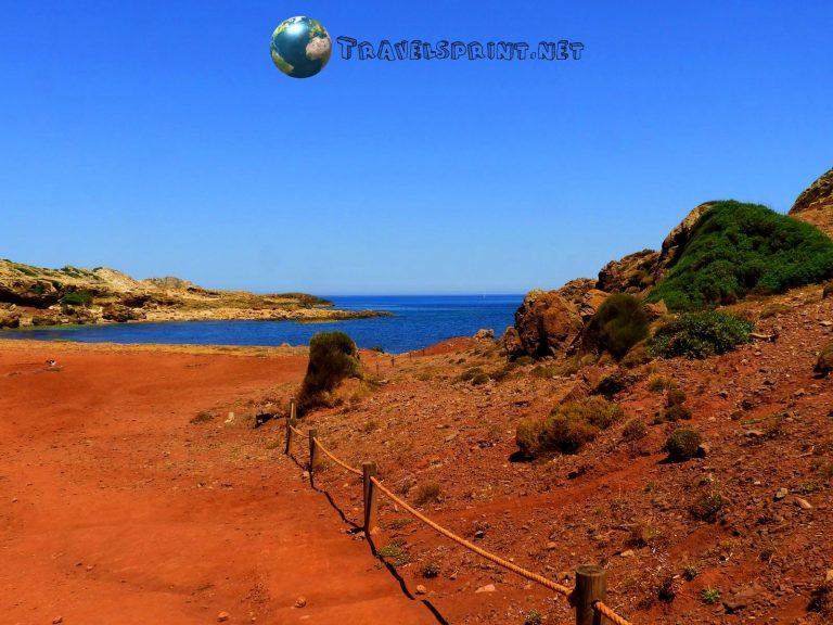 Spiaggia Binibel là - Minorca