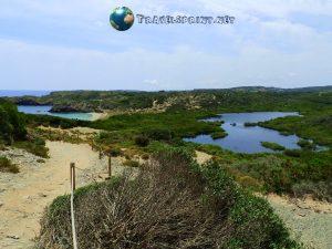 Laguna de Morella, correre a Minorca
