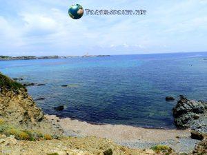 Platja d'en Tortuga, correre a Minorca