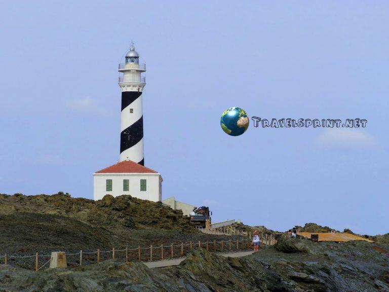 Faro de Favaritx, correre a Minorca
