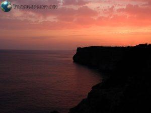 Tramonto Cova d'en Xoroi, Minorca