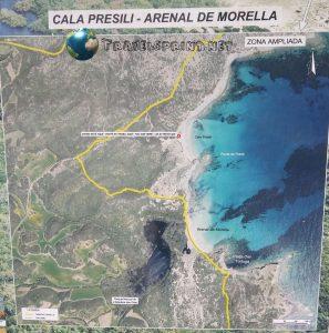 Cala Presili - Platjia d'en Tortuga, s'Arenal de Morella