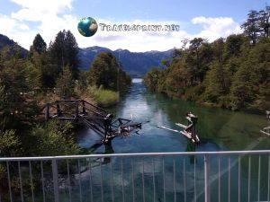 Ponte Rio Ruca Malen Lago Espejo Patagonia correre