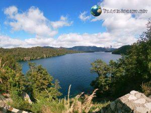 Lago Espejo Villa La Angostura Patagonia correre