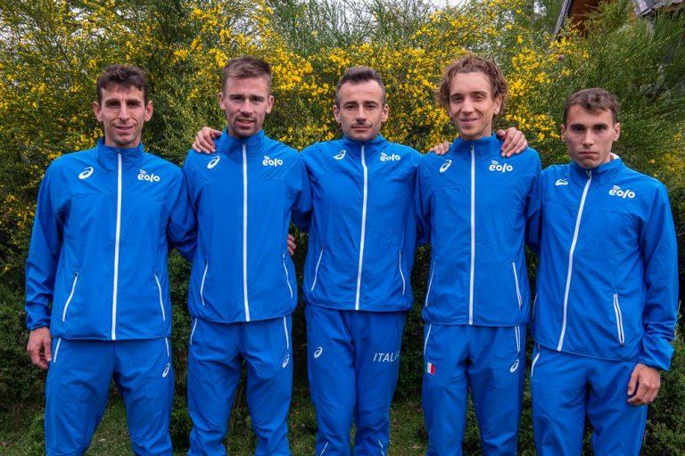 Fabio Ruga, Luca Cagnati, Alessandro Rambaldini, Francesco Puppi, Gabriele Bacchion - Senior M, Team Italy, WMRC Long distance, Villa La Angostura