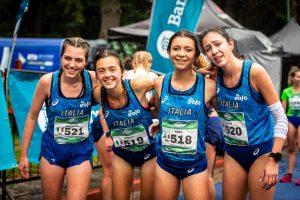 Giovanna Selva, Angela Mattevi, Anna Arnaudo, Elisa Pastorelli, Junior W, Team Italy