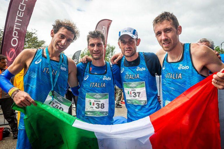 Cesare Maestri, Nadir Cavagna, Alex Baldaccini, Xavier Chevrier, Senior M, Team Italy