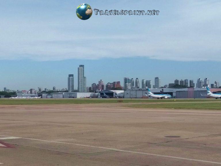 Aeroporto di Buenos Aires, Argentina, correre in argentina