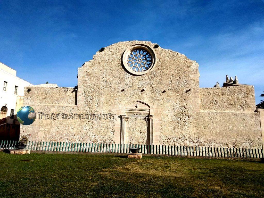 Chiesa di San Giovanni alle Catacombe, Siracusa, correre in sicilia