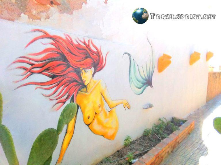 Street Art, marzamemi, correre in sicilia