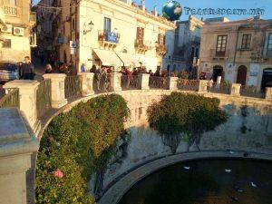 Fonte Aretusa, Siracusa, correre in sicilia