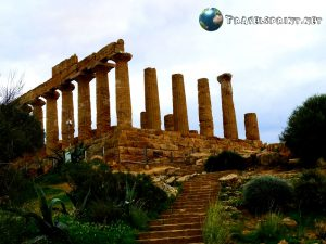 Tempio di Era, Valle dei Templi, correre in sicilia