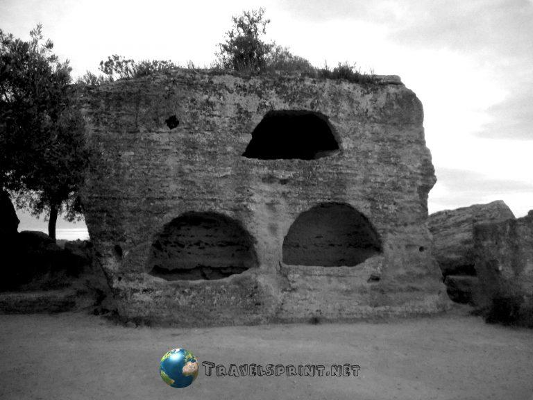 Necropoli Paleocristiana, Valle dei templi, correre in sicilia