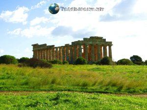 Tempio E, selinunte, correre in sicilia