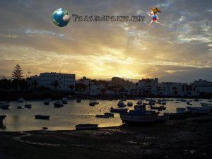 Charco-de-San-Ginés-arrecife-5-giorni-lanzarote-tramonto