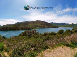 Lago Machonico - Patagonia, correre
