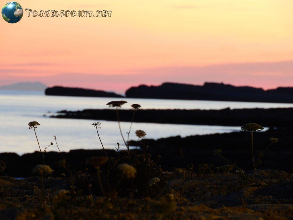 Tramonto da Baia Biniancolla, Minorca