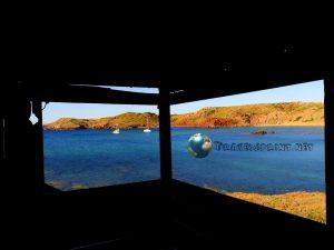 Casetta di legno a Playa Cavalleria, Minorca