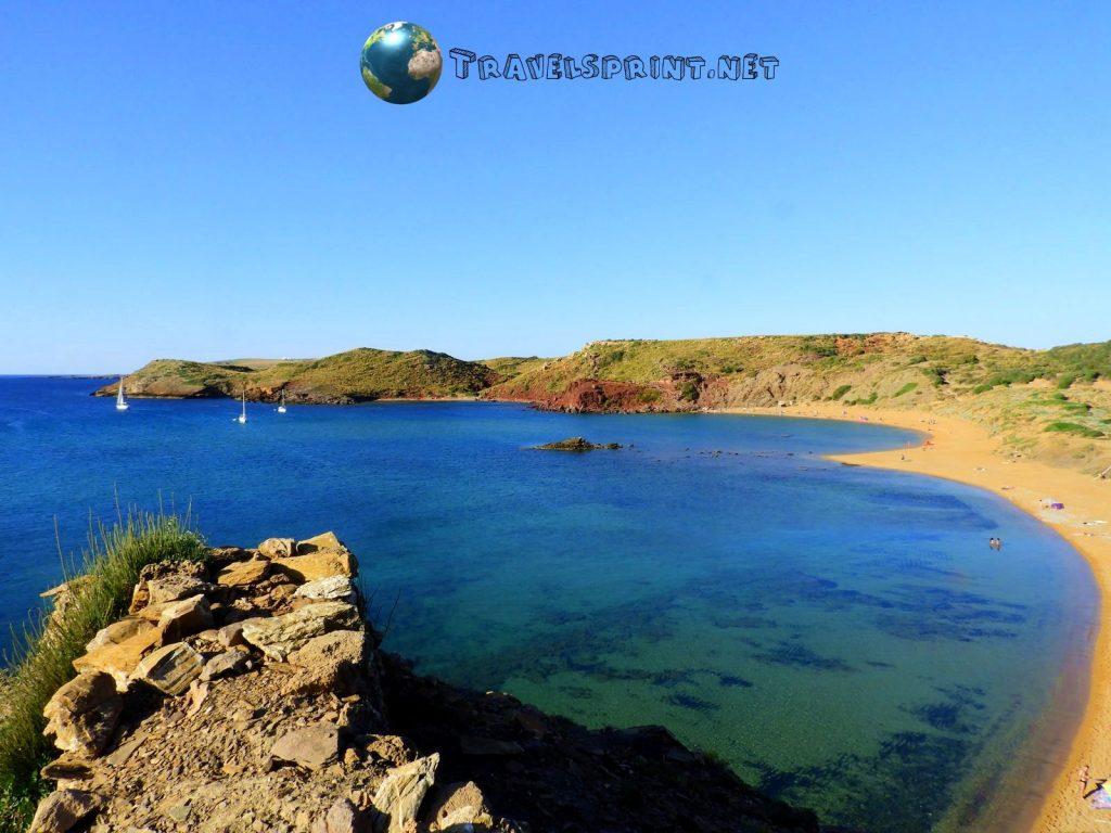 Playa Cavalleria, Minorca, correre