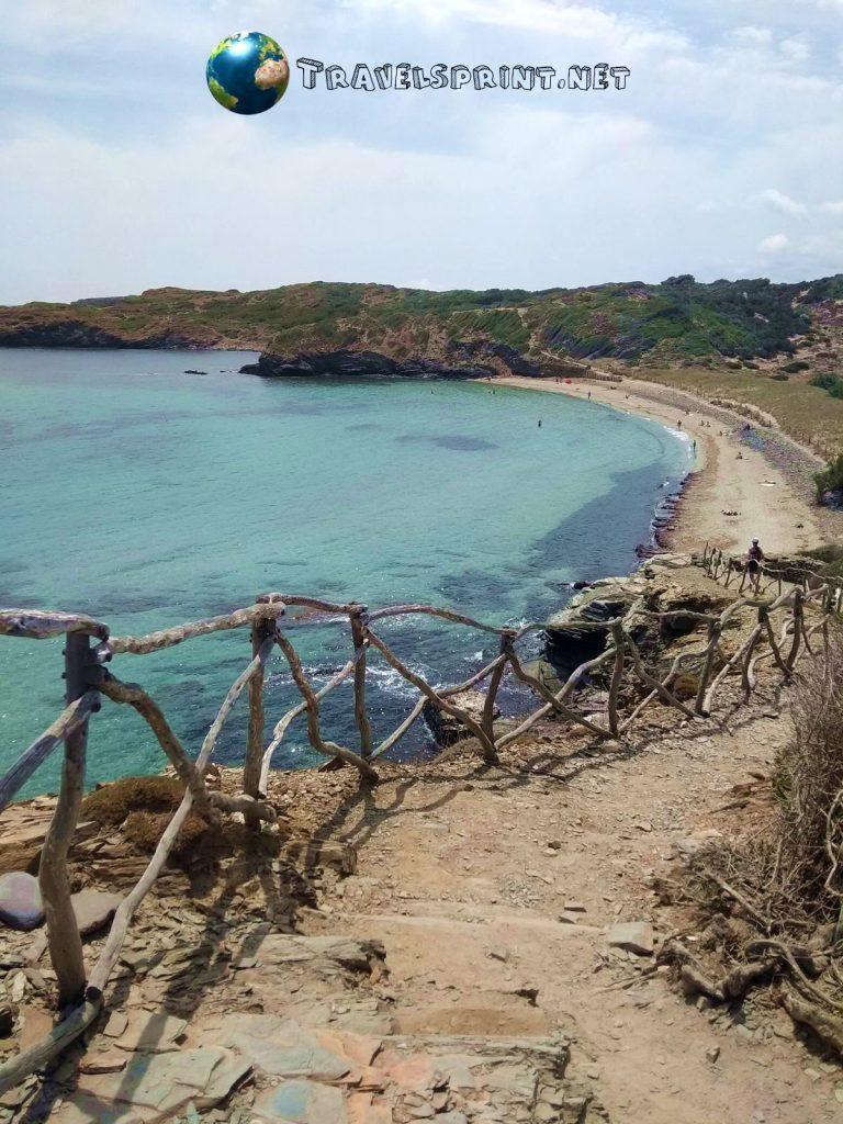 S'Arenal de Morella, correre a Minorca