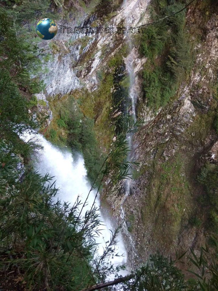 Cascada Inacayal, Villa La Angostura, correre in Patagonia