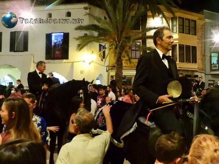 Festa di San Juan, correre a Minorca, Ciutadella