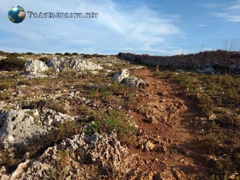 Cami de Cavalls, correre a Minorca