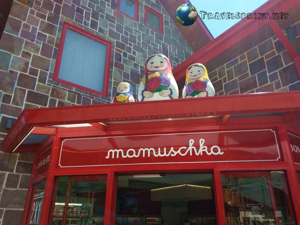 Mamuschka, cioccolato Patagonia, correre
