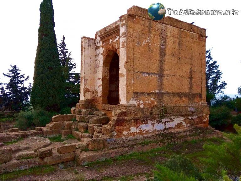 Oratorio di Falaride, agrigento, correre in sicilia