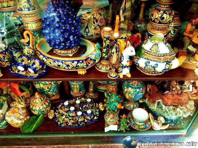 Ceramiche di Caltagirone, correre in sicilia