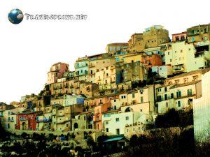 Scorcio di Ragusa,correre in sicilia