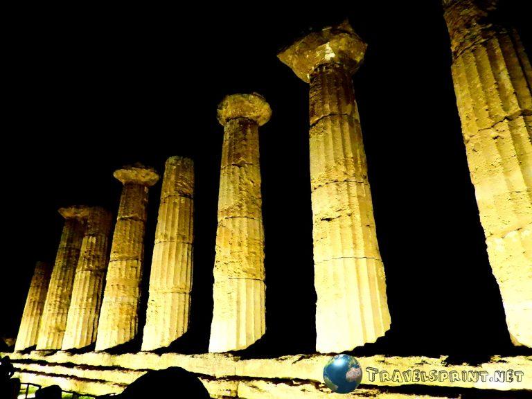 Tempio di Eracle, Valle dei templi, correre in sicilia