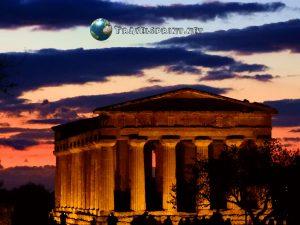 Tempio della Concordia, Valle dei templi, correre in sicilia