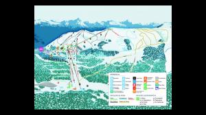 Mappa Piste Sci Cerro Bayo