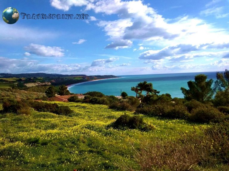 Eraclea Minoa, correre in sicilia