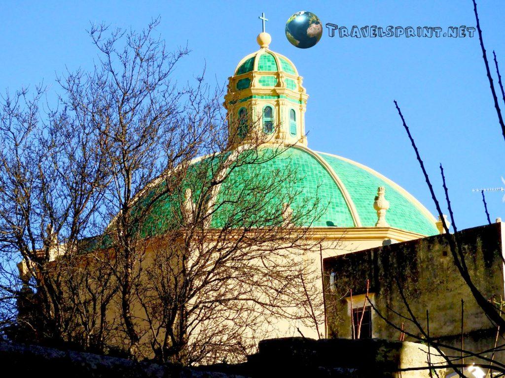 Cupola Chiesa dell'Addolorata, marsala, correre in sicilia