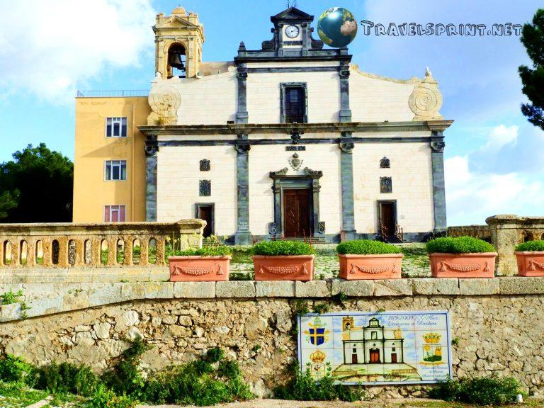 Santuario di San Calogero, Sciacca, correre in sicilia