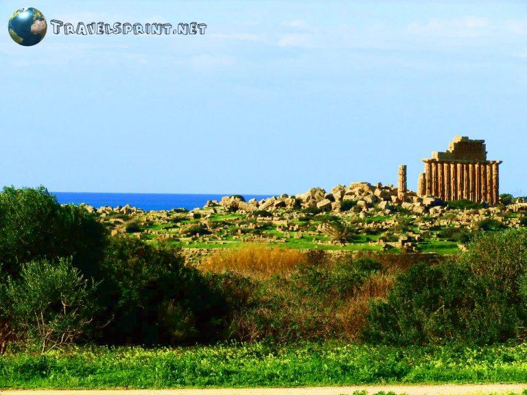 Acropoli di Selinunte, correre in sicilia