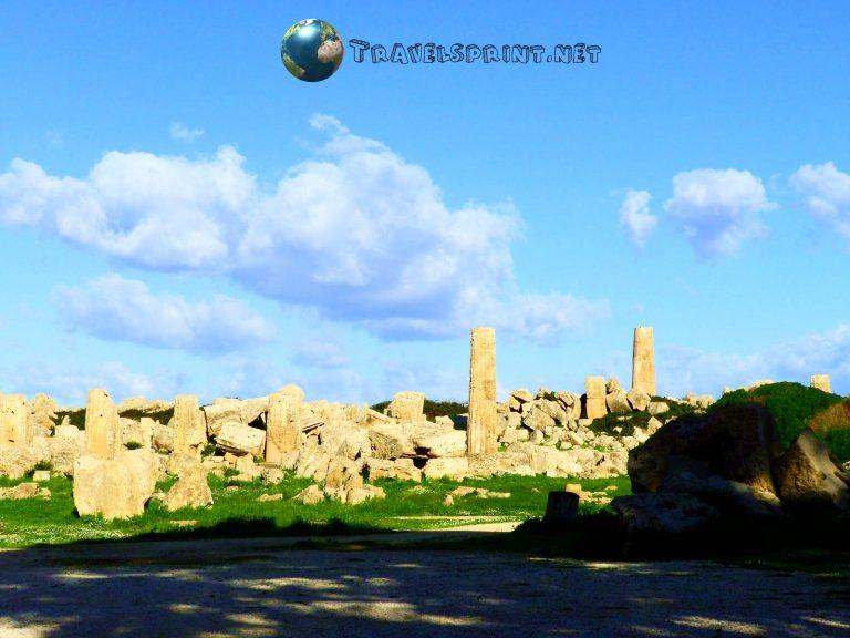 Tempio F, selinunte, correre in sicilia