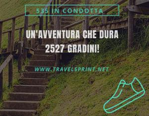 535 IN CONDOTTA_QUANTI GRADINI_TRAVELSPRINT